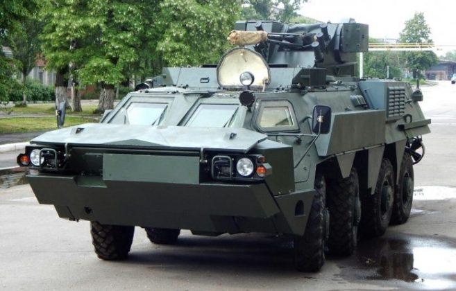 Ujicoba BTR-4 Ukraina - 1