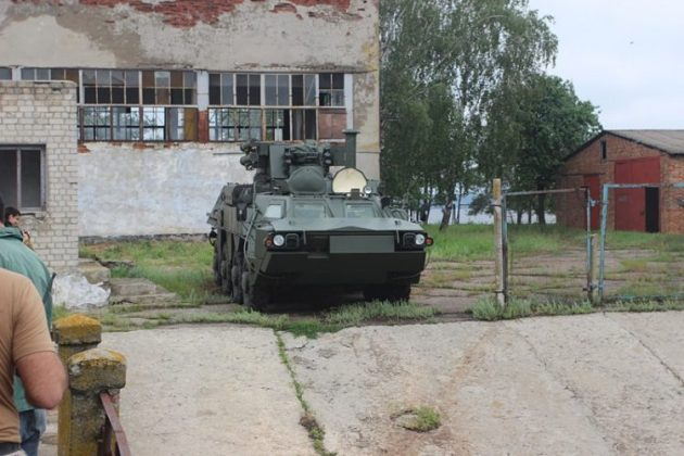 Ujicoba BTR-4 Ukraina - 2