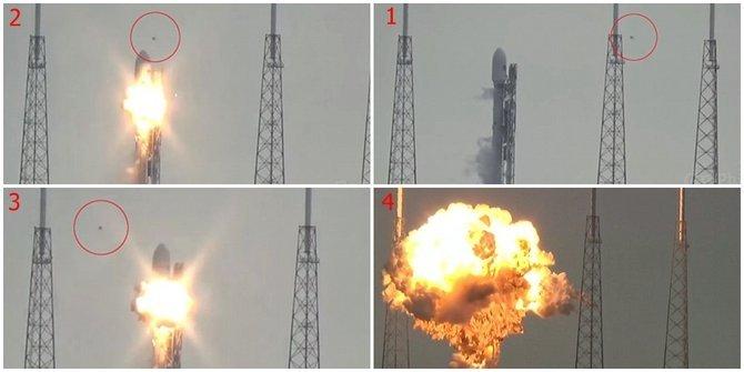 Misteri Ledakan Roket Pembawa Satelit Facebook