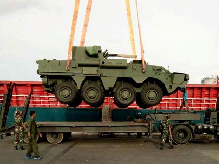 BTR-4M TNI AL Tiba - LancercellDOTcom