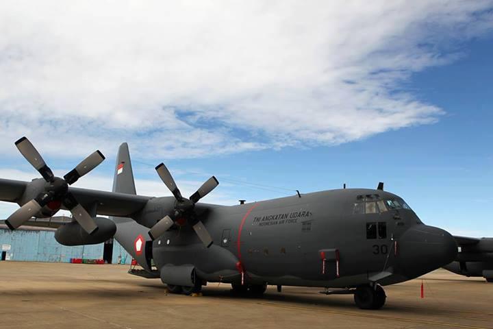 Hercules C130H Hibah RAAF - JKGR