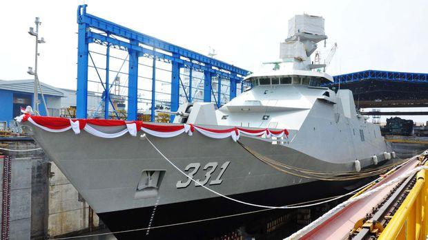 KRI RE Martadinata PKR Sigma 10514. (Indo Militer Blog)