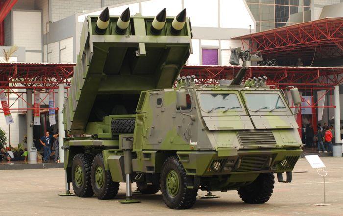 Peluncur Roket Astros TNI AD - JKGR