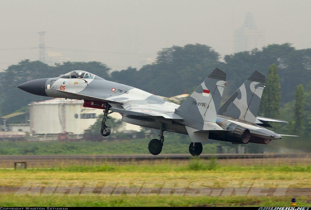 Sukhoi Su-27 TNI AU - AirlinersDOTnet