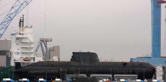 Kapal Selam U-214 Pesanan Yunani - (Src: WP TurksihNavy)