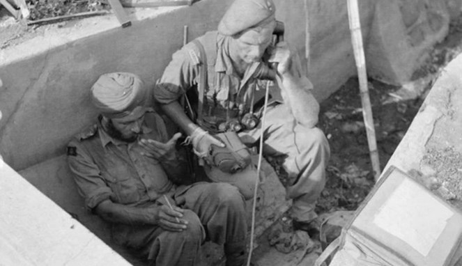Pasukan elit Gurkha dihajar habis-habisan di Surabaya - (Src: Kaskus)
