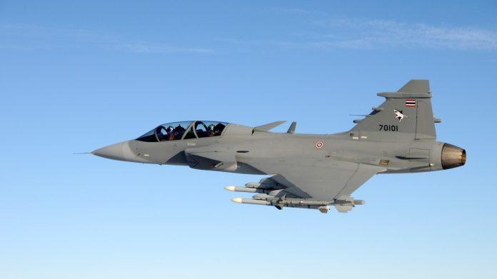SAAB JAS 39 Gripen C/D Calon Pengganti F-5 Tiger TNI AU - (Src: SAAB.com)