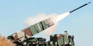 Ilustrasi Uji Penembakan Astros II MK6 TNI AD