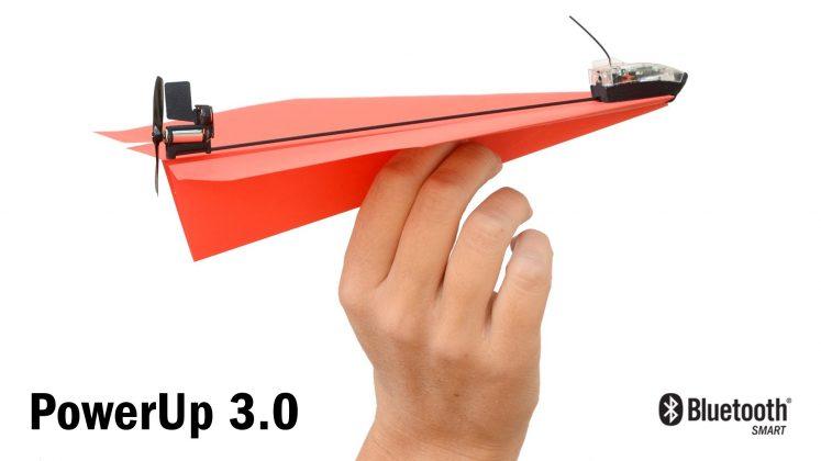 PowerUp - Main Pesawat Kertas Remote Control dari Smartphone