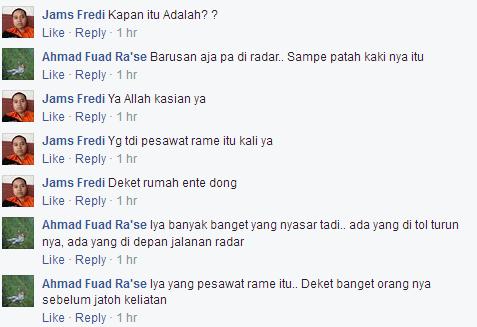 Komentar Pengguna Facebook