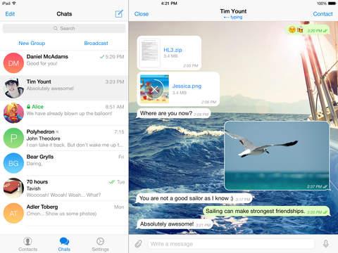 Telegram Dapat Diakses Diberbagai Perangkat Secara Bersamaan