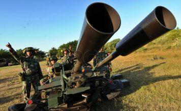 Meriam Giant Bow 23mm Yon Arhanud TNI AD - Republika Online (ROL)