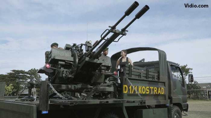 Senjata Sejenis, Giant Bow 23mm Milik TNI AD yang Menewaskan 4 Prajurit TNI dan Lainnya Luka-luka - Vidio.com