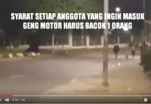 Video Geng Motor di Lenteng Agung, Jagakarsa
