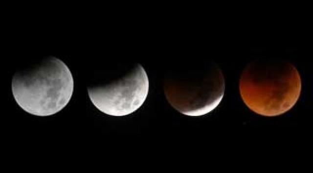 Ilustrasi: Gerhana Bulan Sebagian 7-8 Agustus 2017 - Liputan6