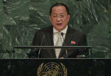 Ri Yong-ho mengatakan bahwa Trump Telah Mendeklarasikan Perang Terhadap Korea Utara - (Src VOA News)