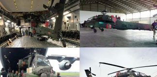 Helikopter Apache AH-64E TNI AD Tiba