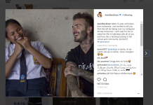 Anak ini Paling Beruntung Bisa Bersenda Gurau dengan David Beckham