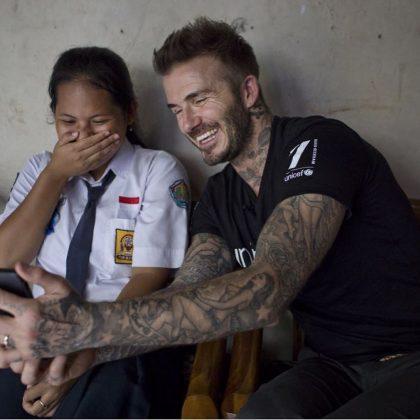 Beruntung Banget Bisa Masuk Instagram David Beckham