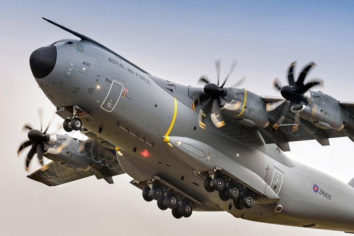 A400M UK Royal Air Force airforce technologyDOTcom