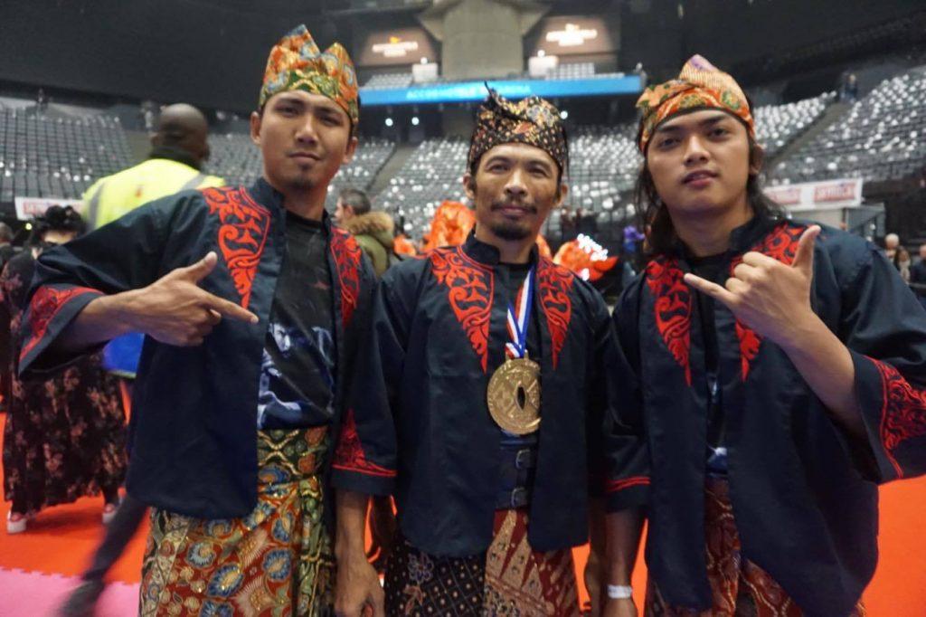 Festival Bela Diri Dunia Di Prancis, Pesilat Indonesia Berjaya