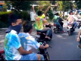 Rayakan Kelulusan SMA dengan Konvoi di Jalanan