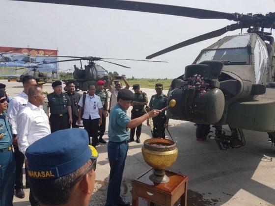 Serah Terima Helikopter Apache AH-64E Guardian TNI AD
