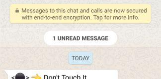 WhatsApp Ngehang Gara-gara Tekan Tombol Hitam - foto androidterritoryDOTcom