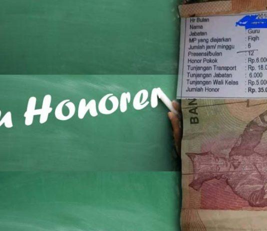 Slip Gaji Guru Honorer yang Menyesakkan Dada