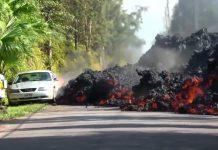Lava Gunung Kilauea di Hawaii yang Menutup Ruas Jalan