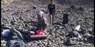 Detik-detik Gunung Merapi Meletus dari Jarak Dekat