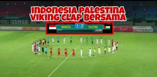 Indonesia Palestina Viking Clap Bersama