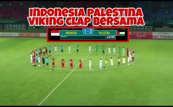 Indonesia Palestina Viking Clap Bersama
