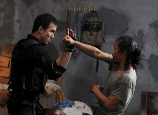 Joe Taslim di Film The Raid Redemption Saat Melawan Yayan Ruhiyan (Mad Dog)