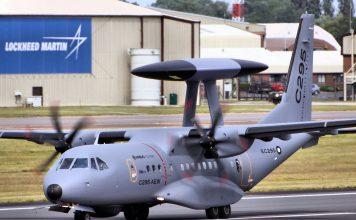 Pesawat AWACS C-295 dari Airbus - Src Wikimedia Commons