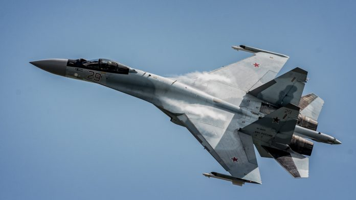 Pesawat Tempur Sukhoi Su-35 yang akan dibeli Indonesia - Src The Aviationist
