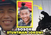 Sosok Stuntman Jokowi Dalam Video Pembukaan Asian Games 2018