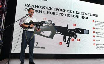 Senjata Anti Drone Buatan Rusia, Kalashnikov Rex-1, Image Src By Sputnik Brasil
