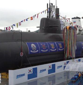 Kapal Selam Terbaru Korea Selatan, Berekmampuan Meluncurkan Rudal Jelajah dan Balistik