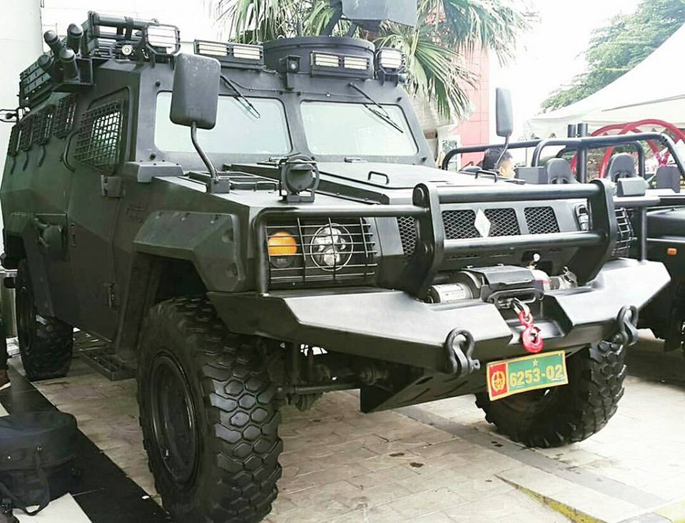 Komodo Halilintar 4×4 Source Radar Militer
