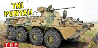 5 Kendaraan Panser TNI Terganas