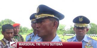 Marsekal TNI Yuyu Sutisna Saat Memberi Keterangan Terkait Satuan Pemelihara Rudal Jarak Jauh - Youtube Antara