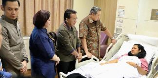 Ani Yudhoyono tengah dirawat di rumah sakit. (Dok. Twitter Andi Arief)