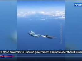 Manuver Berbahaya Su-27 Paksa F-15 Menjauh dari Pesawat Penumpang Rusia