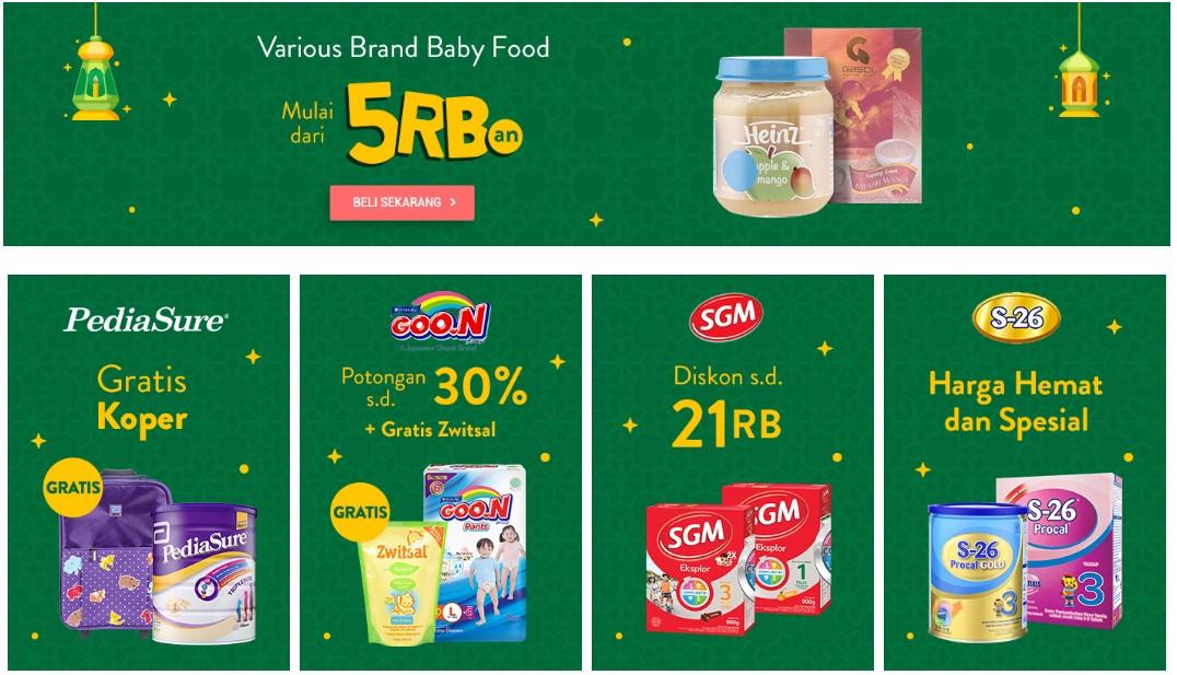 Belanja Perlengkapan Bayi di Orami by Bilna
