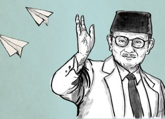 BJ Habibie Memiliki 46 Hak Paten, Diantaranya Teori Crack - Gambar Sumber TirtoDOTid
