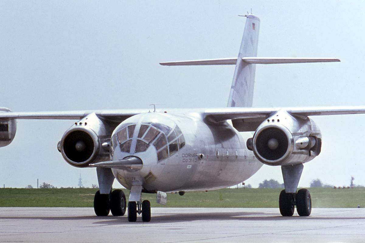 Pesawat Dornier Do 31 - Gambar Sumber Wikimedia Commons