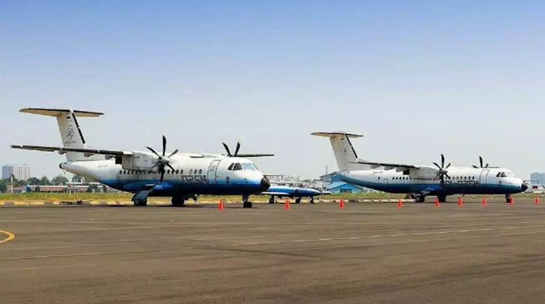 Pesawat N250 Gatot Kaca dan Krincing Wesi Karya BJ Habibie