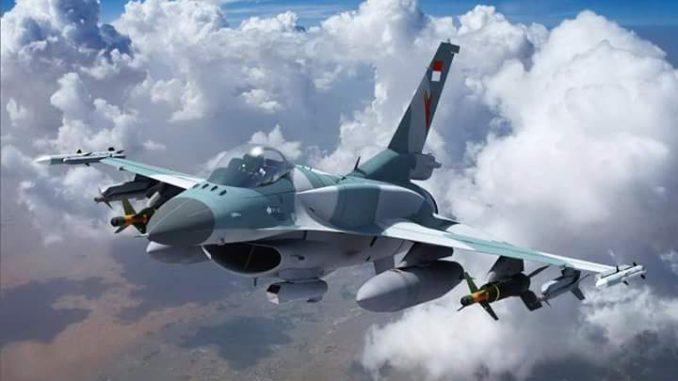 F-16 Viper dengan livery TNI AU. Gambar dari proposal Lockheed Martin ke pemerintah Indonesia (Src miltermeterDOTcom)