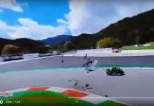 Kecelakaan MotoGP Austria Morbidelli Vs Zarco